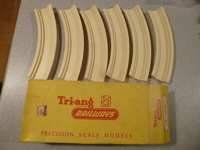 Triang TT Gauge T108 6 x Track Foundation Single-Curved Boxed