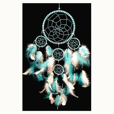 Handmade Dream Catcher with Feathers Wall Hanging Decoration ( with a...
