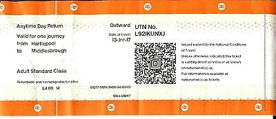 Hartlepool Middlesbrough new pattern conductor issue ticket Northern Rail DORIS