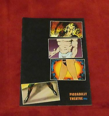 Rocky Horror Picture Show Theatre Programme 1990 Piccadilly Anthony Head