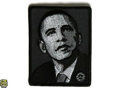 President Barak Obama Iron On Patch 2.4 x 3 inch Free Shipping Rare Patch P5439