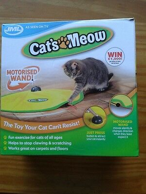 Cat's Meow. Motorised interactive Toy.  New in box