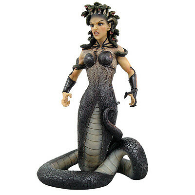 Medusa Body Venomous Snake Statue Mythology Monster Figurine