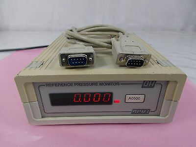 Dh Instruments Dhi Rpm1-A0500 Reference Pressure Monitor Calibrator *tested*