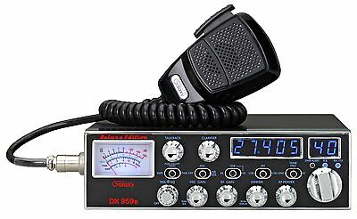 Galaxy DX-959B Mobile CB Radio with Blue Frequency and Channel Digits