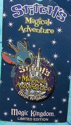 Disney  Pin STITCH CARDED LE MAGICAL ADVENTURE