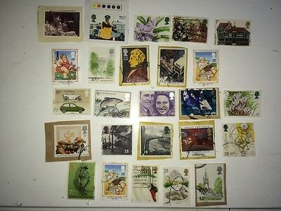 Decimal GB Commemoratives on paper no Christmas included 25 different #02