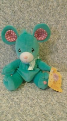 1998 Precious Moments Tender Tails Rosie Mouse Limited Edition Plush