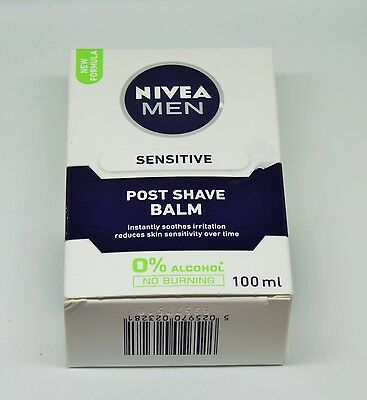 Nivea Men Sensitive Post Shave Balm, 100 ml uk seller
