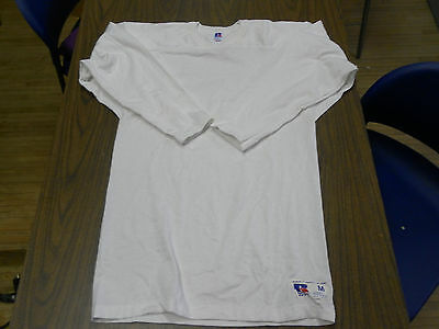 vintage RUSSELL ATHLETIC CLOTH COTTON FOOTBALL JERSEY USA MADE SIZE MEDIUM