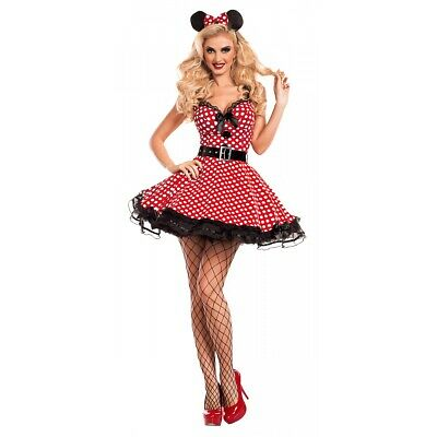 Minnie Mouse Costume Adult Halloween Fancy Dress