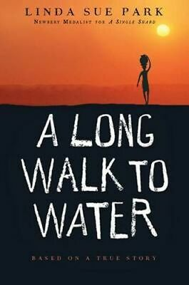NEW A Long Walk to Water By Linda Sue Park Paperback Free Shipping