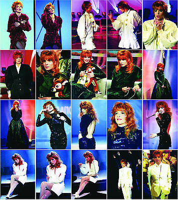 Lot de 20 Cartes postales de Mylène FARMER, Neuves, RARE