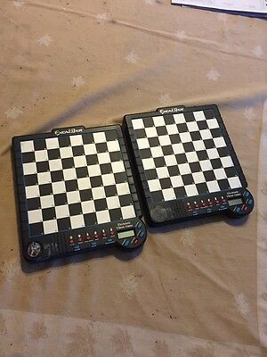 Excalibur Saber III Electronic Chess Game - Model 901E-3 Works Great