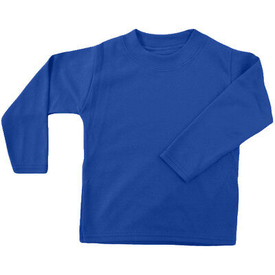 Royal Blue Unbranded Baby Long Sleeve T-Shirt 2-3y