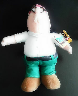 Family Guys PETER GRIFFITH Plush Toy (9.5 INCHES) ***Brand New with Tags***