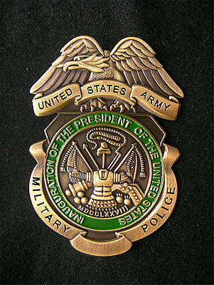 US ARMY MILITARY Department BADGE Uniform Cos Eagle Copper INSIGNIA