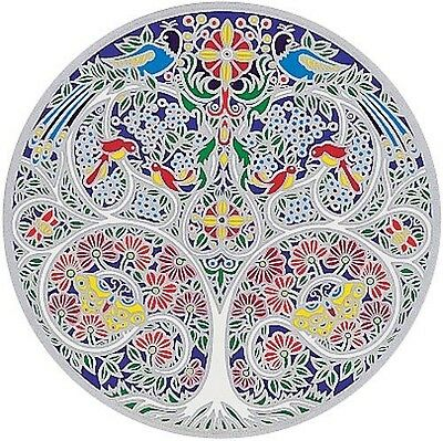 Sunseal - Tree Of Life - Glass Decal For Windows & Glass Door 14 Cm