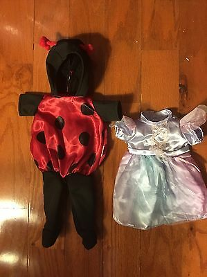 Fisher-Price Doll clothes Dress - Red And Black Ladybug Costume