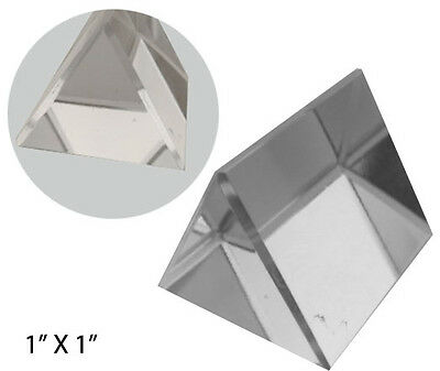 Optical Glass Triangular Prism, 1-Inch - PP-17739