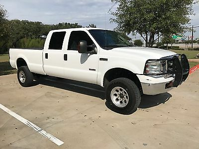 2005 Ford F-350 Lariat 2005 Ford Superduty F350 SRW Lariat Powerstroke Diesel Leather Lifted Banks Kit