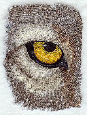 """Wolf Eye, Wild Animal, Wolves Embroidered Patch 4.8"""" x 6.7"""""""