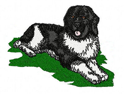 Newfoundland  Embroidery Patch (full body)