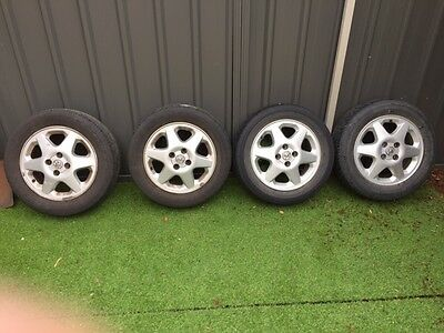4 Mag Wheels, to suit Toyota corolla 2006 and Holden Astra