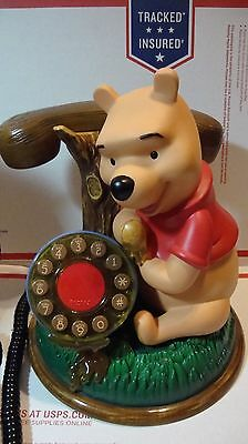 Disney Winnie the Pooh Talking Animated Telephone Desk  by Telemania