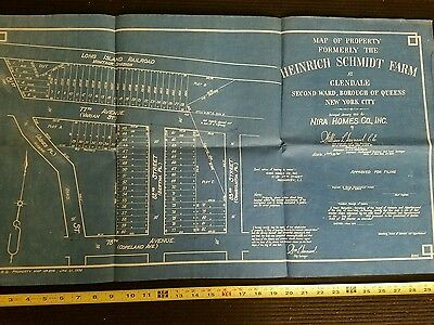 Map Heinrich Schmidt Farm at Glendale queens ny