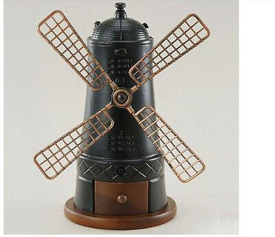 New Home Black Windmill Hand Grinder Mill Grinding Tool Coffee Bean Grinder &
