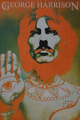 GEORGE HARRISON - A3 Poster (ca 42 x 28 cm) - Beatles Clippings Fan Sammlung NEU