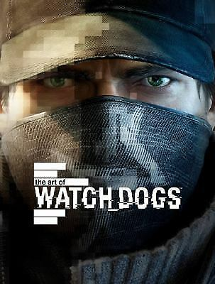 The Art of Watch Dogs by Andy McVittie Hardcover Book (English)