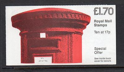 Gb 1985 Ft5A (Revised) Write Now Pillarbox £1.70 Folded Booklet