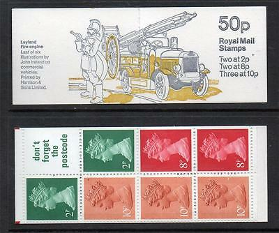 GB 1979 FB9B COMMERCIAL VEHICLES SERIES 50p FOLDED BOOKLET