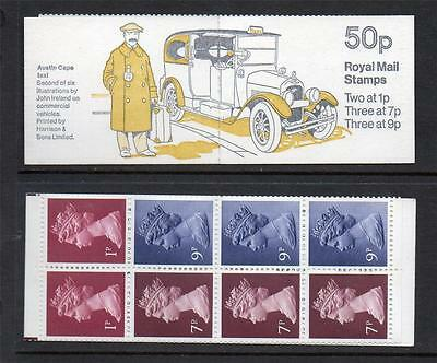GB 1978 FB4A COMMERCIAL VEHICLES SERIES 50p FOLDED BOOKLET
