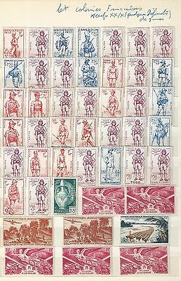 Timbres Colonies Francaises Tres Bon Lot Voir Photo