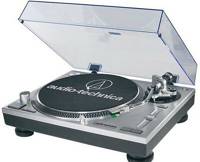 Audio Technica AT-LP120-USBHC USB Professional Turntable Direct Drive Plays