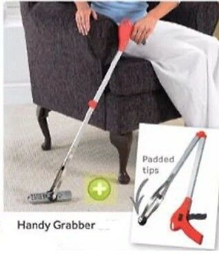 Handy Grabber - Portable & Lightweight - Avoid The Need To Bend & Stretch - New