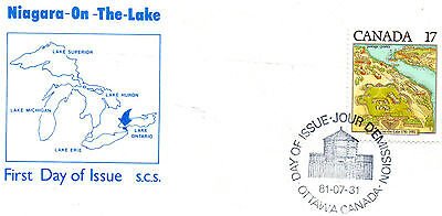 41 CANADIAN FDC.'s -FROM THE PERIOD-1979 TO 1981--VG..