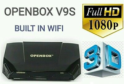 Openbox V9S Satelite Receiver + 36 Months Warranty Gift Plug And Play