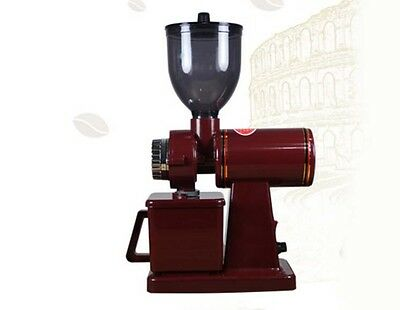 New Red Commercial Home Electric Grinder Mill Grinding Tool Coffee Grinder  #