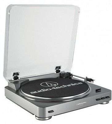 Audio Technica AT-LP60 Fully Automatic Belt-Drive Stereo Turntable System