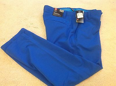 UA.Tapered S6 Under Armour Golf Trousers.BNWT,Blue. 34 x32""