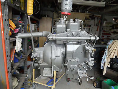 8hp YANMAR single cyl. diesel boat engine and gearbox