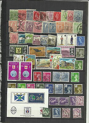 World stamps all reigns lucky dip lot 417