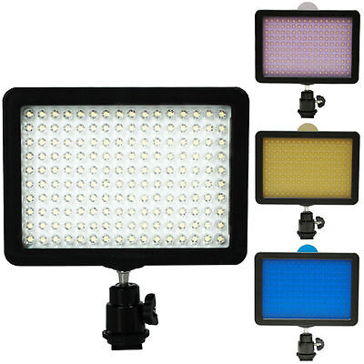 Highlight 160 LED Studio Video Light for Canon Nikon DSLR Camera DV Camcorder OH