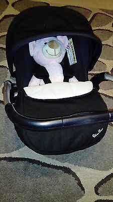 Baby car seat (baby carrier) and ISOFIX base silver cross