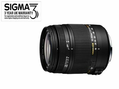 Sigma 18-250mm f/3.5-6.3 DC OS HSM Macro Lens - Canon EOS Fit