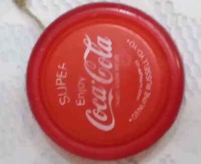 Genuine-vintage-Coca-Cola-super-Russell-Yo-Yo-made-in-the-Phillipines-red